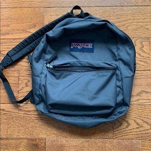 Jansport Gray Backpack- Like New!